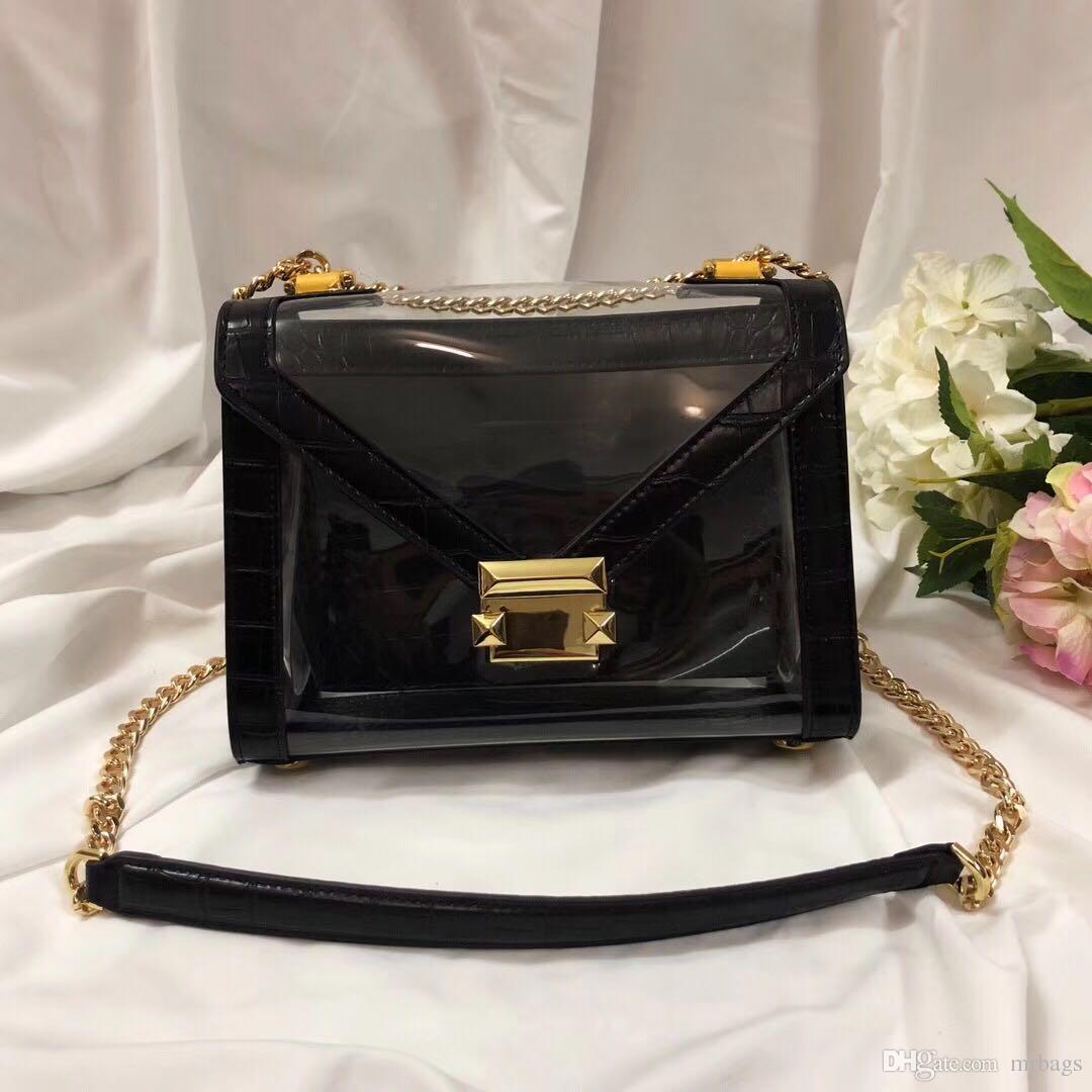 2019 signore nuova borsa di marca designer americano Cross Body Bag coccodrillo motivo patchwork stile di tendenza materiale ambientale della moda