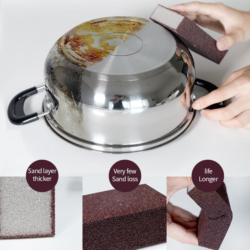 Magia esponja remoção de ferrugem Limpo Cotton Limpe Cleaner acessórios de cozinha utensílio de cozinha lavar aparelhos pot
