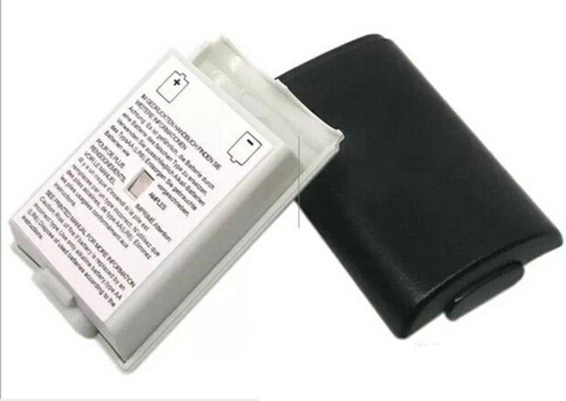 غطاء البطارية حزمة شل الدرع كيت حالة لأجهزة إكس بوكس 360 وحدة تحكم لاسلكية حزمة بطارية يغطي استبدال