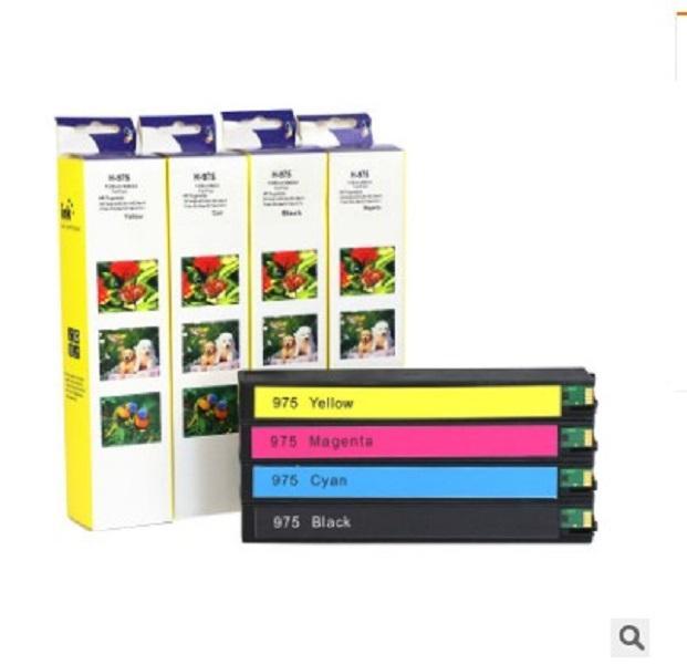 2020 sıcak satış 975a mürekkep kartuşu HP x452dn 452dw x552dw x477dn mürekkep kartuşları Yazıcı Malzemeleri için uygundur