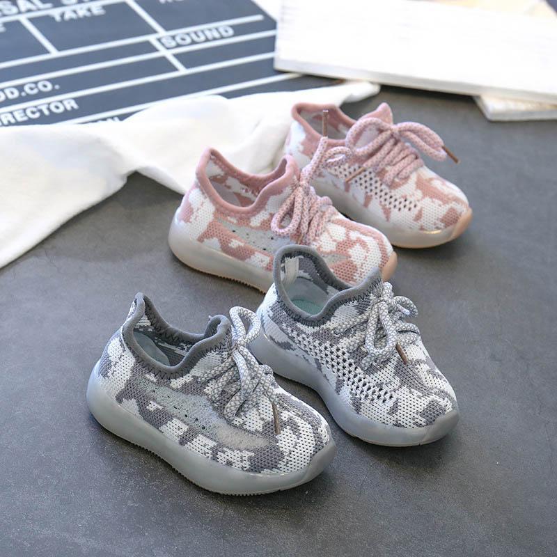 2020 zapatos de bebé de primavera niño zapatos casuales zapatos infantiles niña de zapatos de niño zapatillas de deporte zapatillas de deporte de bebé del niño formadores chicos zapatillas de deporte B252