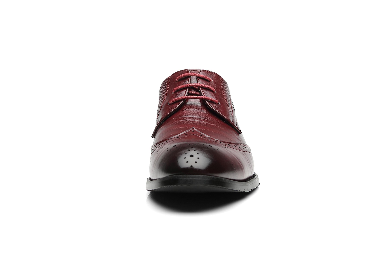 Новый мужской Brogue перфорированная кожа крыло наконечник зашнуровать Оксфорд платье обувь C2-2791