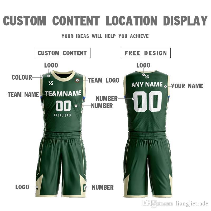 La Chine fait sur commande New Style conçoivent des uniformes de chandails de basket-ball de sublimation bon marché ensembles de vêtements de sport, logo d'équipe
