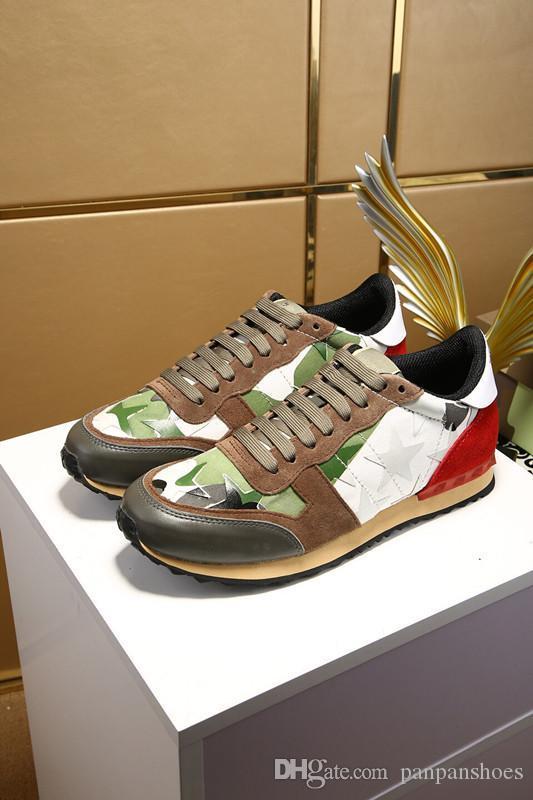 Low top vermelho sneakers inferiores para os homens de luxo de couro preto de moda casual mens as sapatas das mulheres sapatos de grife causais hy18032303 Atacado