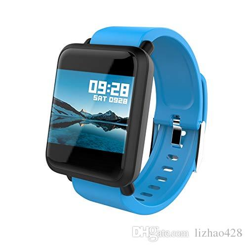 Smart Watch Big Screen Heart Rate Monitor Blood Pressure Blood Oxygen SPO2 Multi Sport Mode Swim Smartwatch IP67