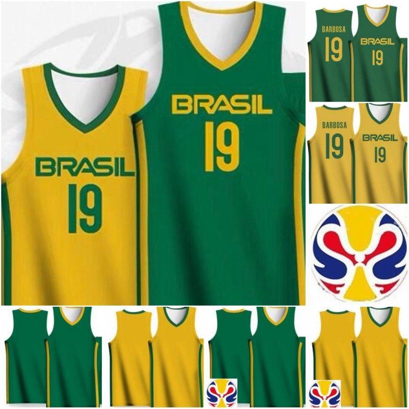 2019 Кубок мира команды Бразилии Баскетбол Джерси Бразилия 50 Bruno Caboclo 10 Alex GARCIA 19 Leandrinho BARBOSA 5 Рафа LUZ Яго Матеуш LIMA LOUZAD