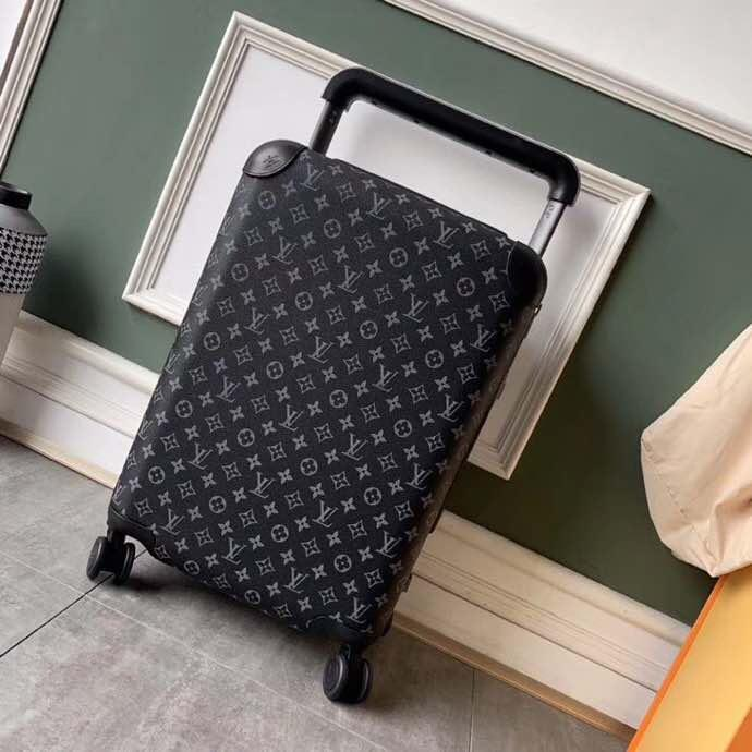 53cm superior de la bolsa del equipaje del viaje de diseño de calidad hombres mujeres bolsa de pico largo tronco de lujo maleta de lona para hombre bolsas de lona ase caja de la carretilla