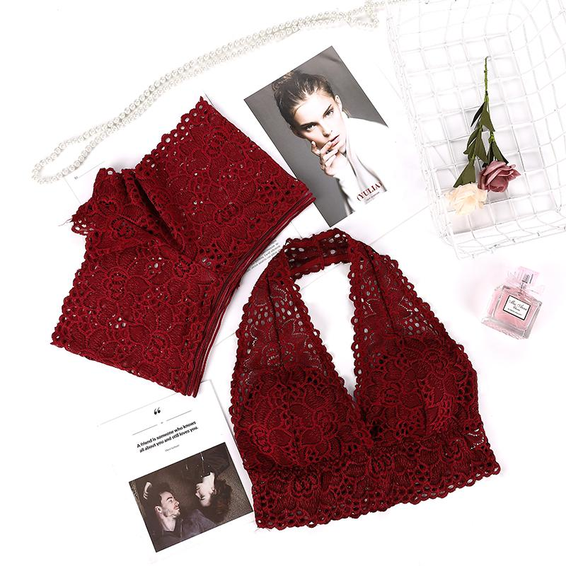 Women Sexy Lingerie set Night Suit Seamless Lace Bra Crop Top and shorts Panties Set Push up padded Underwear Sleepwear