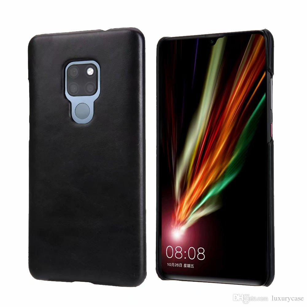 Fashion For Huawei Mate 20 X Case Back Cover Luxury Colorful Ultra-Thin Original Genuine Leather Case For Huawei Ascend Mate 20 X