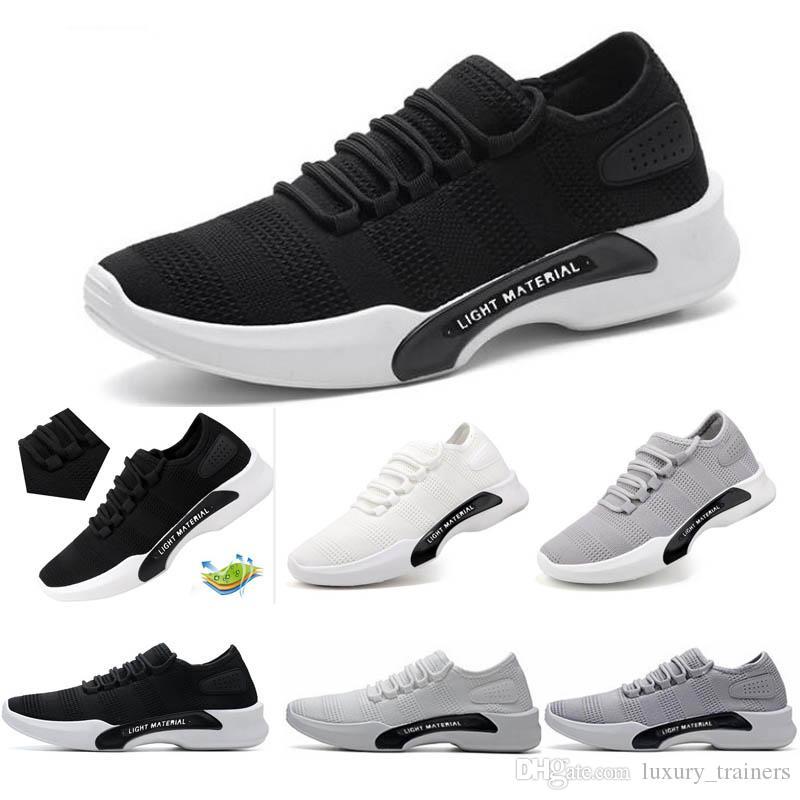 homem sapatilhas frescas confortáveis sapatos de corrida respirável para os homens ao ar livre caminhadas caminhadas mne esporte tênis espreitadelas 203F