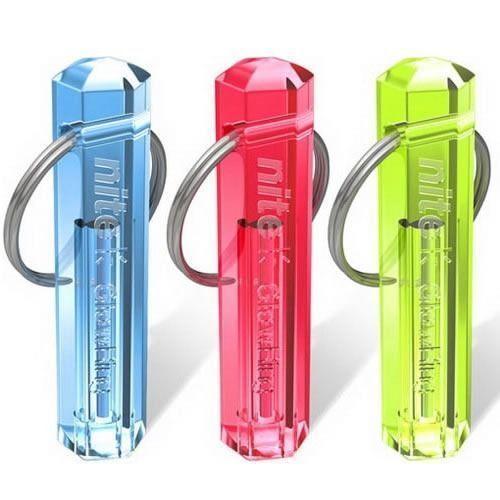 New Nite Tritium Glowing Illuminated Keyring Schlüsselanhänger Glow Stick Ring 10-Jahre C19011001