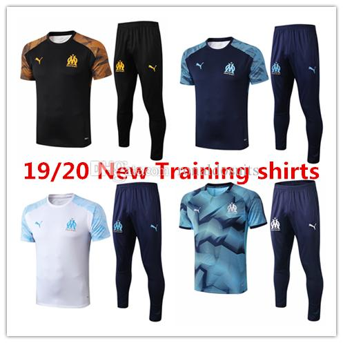 19 20 marseille mens polo t shirts Ocampos short sleeves tracksuits football jersey Thauvin training suit Germain soccer soccer shirts pants