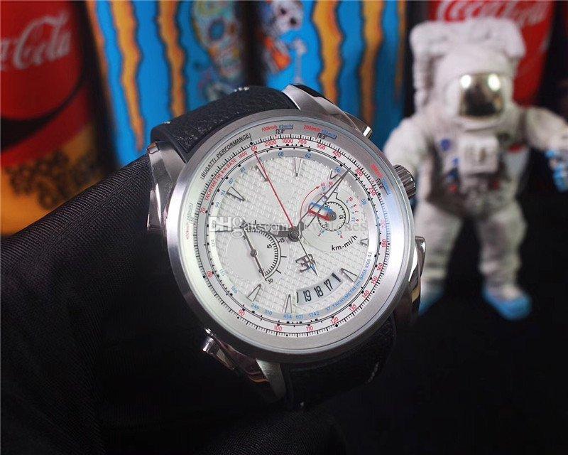 뜨거운 판매 남자 시계 석영 스톱워치 쿼츠 무브먼트 크로노 그래프 남자 시계 비즈니스 스타일 남자가 001 손목 시계 시계