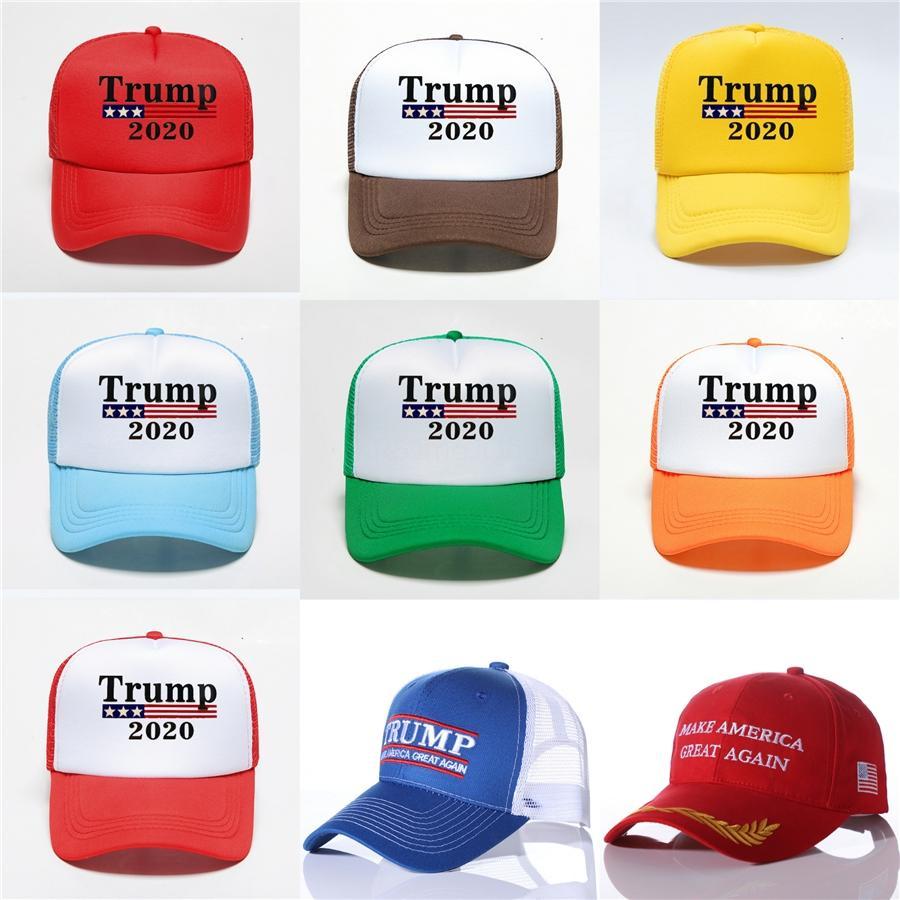 Сделать Америку Great снова Hat Дональд Трамп 2019 Республиканской Регулируемая Бейсболка унисекс-Adult черной для мира Президента США Hat # 569