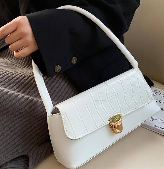 2020 senior Sense Niche design de mode Sac d'épaule de luxe Sac à main Lady Croaabody Sac
