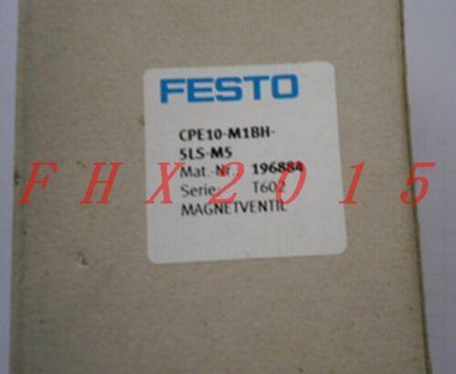 ONE NEW FESTO CPE10-M1BH-5LS-M5 196884 Solenoid Valve