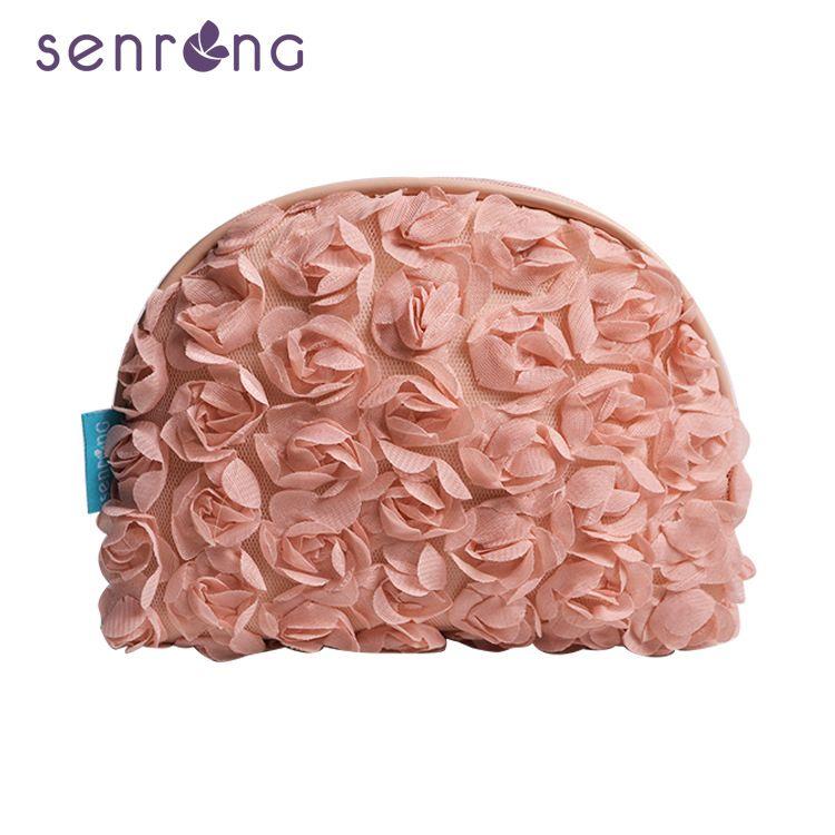 2020 новая европейская и американской взрывчатой косметичка розовый вышитых картин ягненка рука оболочка мешок косметический
