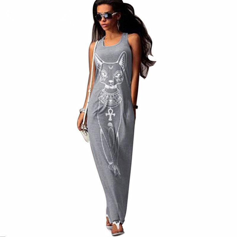 Vestido largo maxi de las mujeres del verano ocasional boho beach dress sexy bodycon vestidos de fiesta de noche vestidos largos mujer tallas grandes