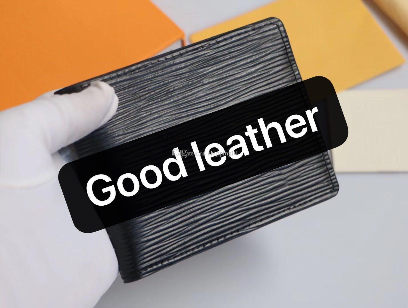 2020 5 패턴 새로운 남자 짧은 지갑 가죽 숙 녀 스타일 지갑 지갑 카드 홀더 선물 상자