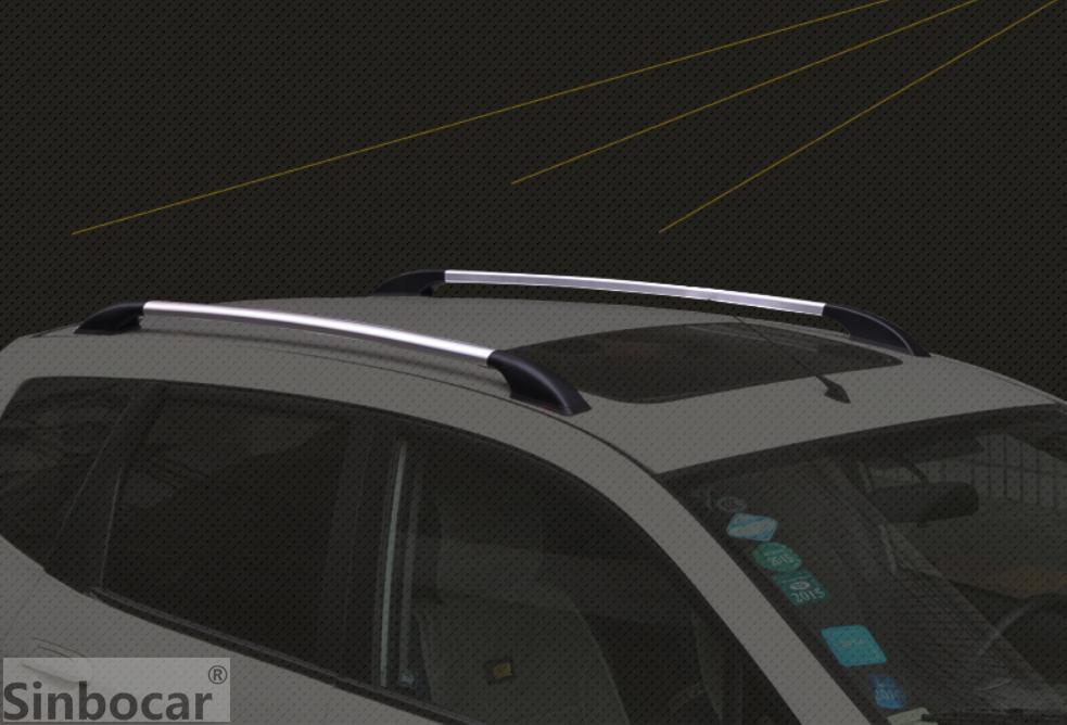 سقف السيارة الأمتعة رف الأمتعة البارات السكك الحديدية الديكور تريم لفورد فوكس هاتشباك 2006-2018