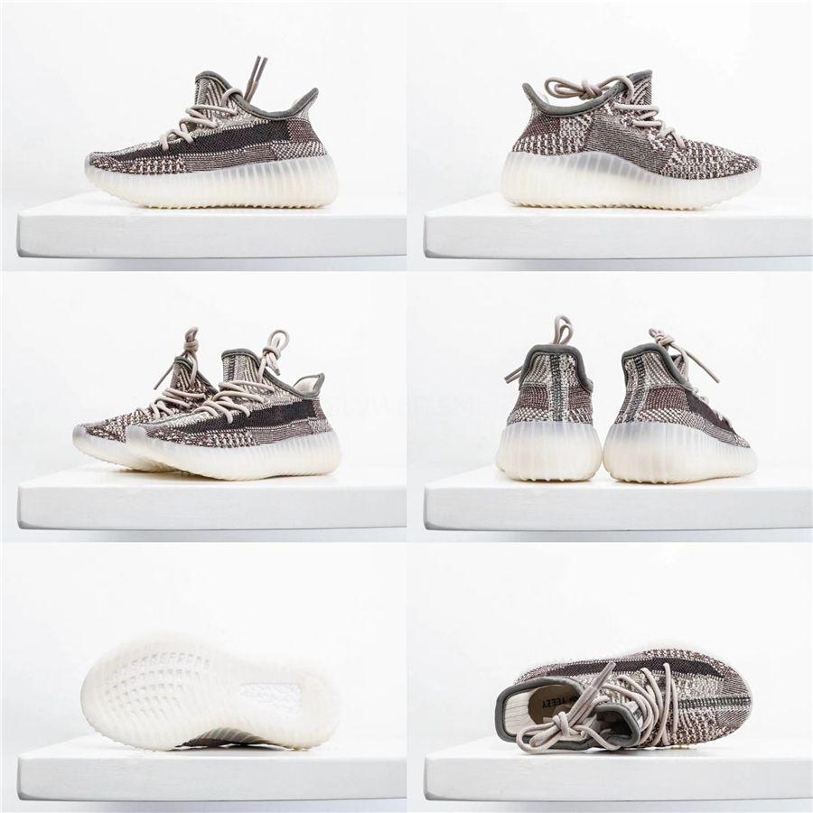 2020 Bebek Kanye West Ayakkabı Çocuk Bebek Tasarımcı Gençlik Kil Türe Formu Statik Dalga Boys Kız Spor Antrenörü Çocuk Bebek Sneakers04F # 384