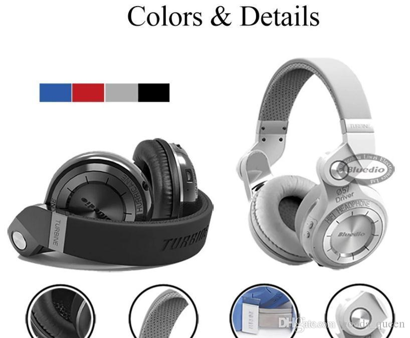Hot Bluedio T2S bluetooth Headphone stereo wireless headset with microphone bluetooth 5.0 for iPhone Xiaomi car