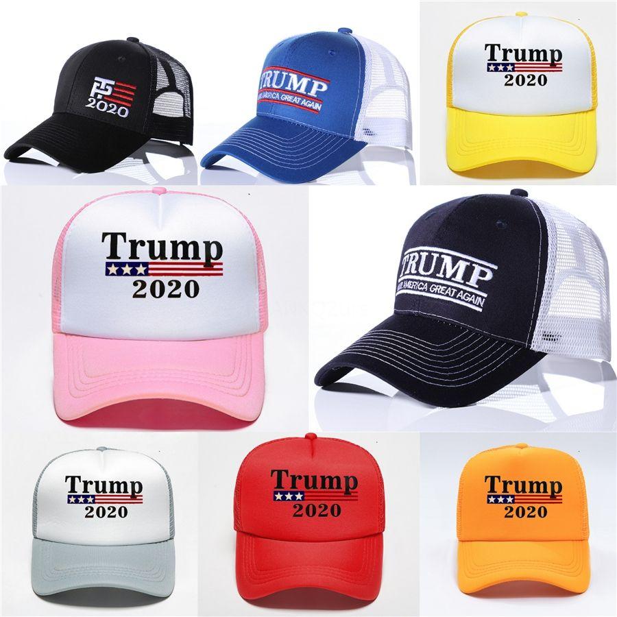 Caps hacer de Estados Unidos Gran nuevo sombrero del Snapback Donald Trump Deportes gorras de béisbol 10 colores caliente Cny1107 # 874