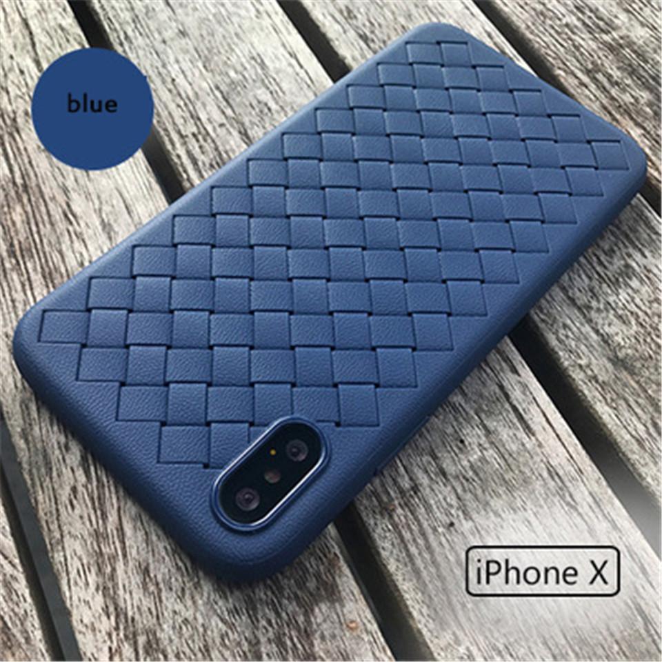 제조업체의 직접 판매 iphone6 / 6S, 6P / 6sP 니트 땀 방지, 손으로 미끄럼 방지 및 충격 방지 TPU 휴대 전화 쉘을 / 8,7P / 8P 7, X