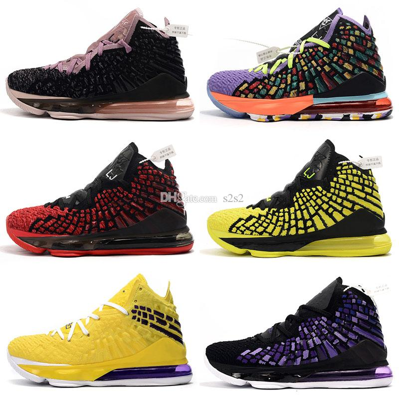 2020 New Lebron 17 Xvii Lbj Basketball Shoes Purple Yellow Gold Glow In Dark Mvp Bhm Oreo Kids Lebrons James Xvii Sneakers Best Kids Shoes Kids Tennis Shoes With Wheels From S2s2