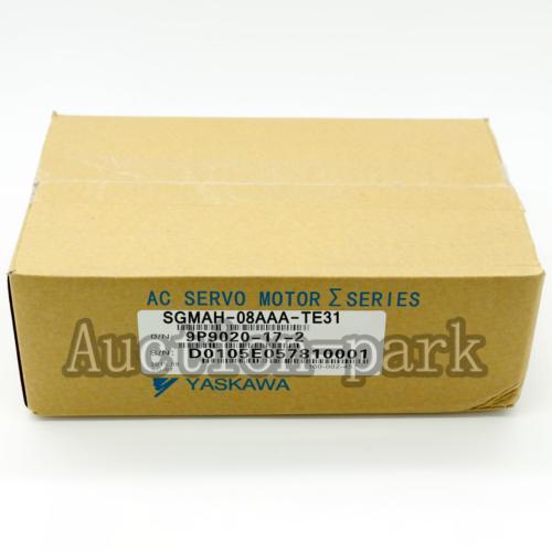 1Pc новые в коробке Yaskawa серво гарантия двигателя SGMAH-08AAA-TE31 один год