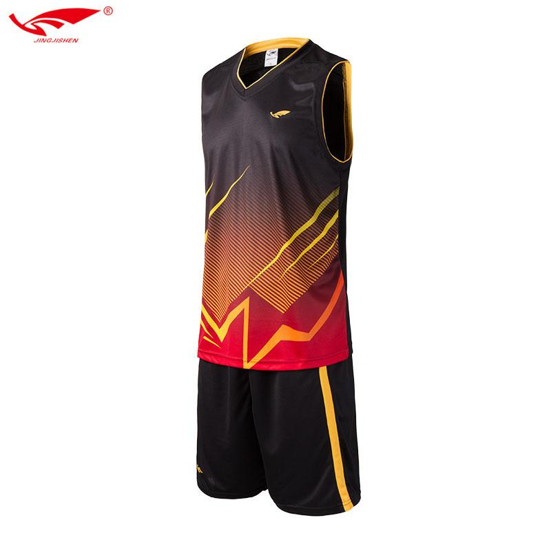 Custom basketball jerseys men blank college basketball uniforms cheap breathable dry quick basketball set suits 2017 new C18122501
