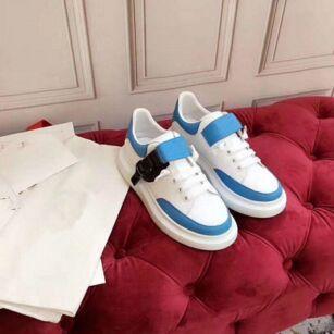 Pelle nuovo progettista Stagione moda scarpe di lusso Donna Scarpe Uomo Lace Up Platform Oversized Sole Sneakers Bianco Nero casual Calzature hfk03