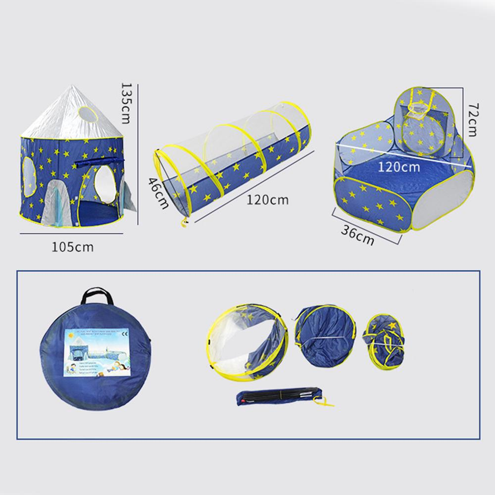 Carpas Para Eventos enfants Tente bébé Piscine à sec Tente pour enfants Kid Tente Hutte Ocean balle Tentes jouets