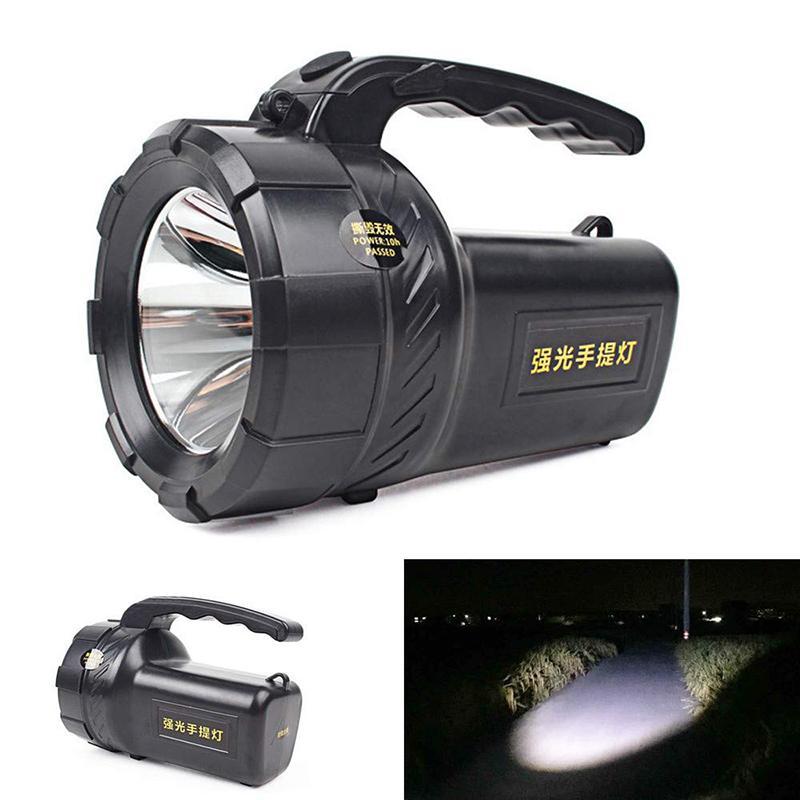 DEL Portable Camping Torche Batterie Rechargeable Lanterne Lumière Nuit Tente Lampe UK