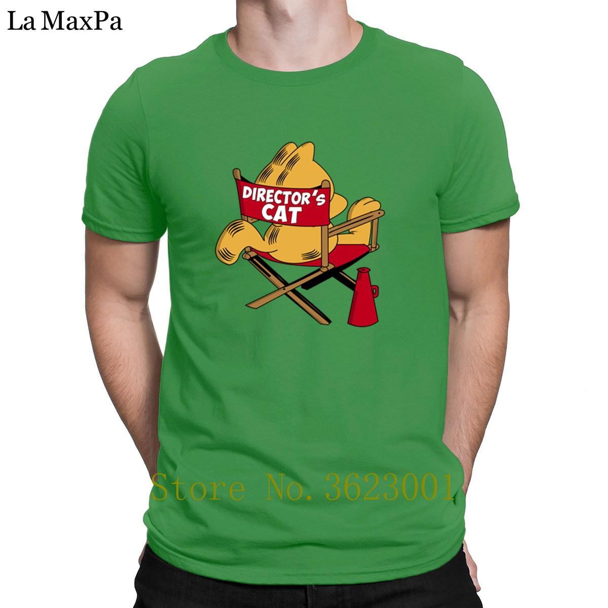 Imprimé Euro Taille T-shirt T-shirt des hommes de chat de Directeur Pop Top Tee original T-shirt d'été T-shirt homme génial meilleur