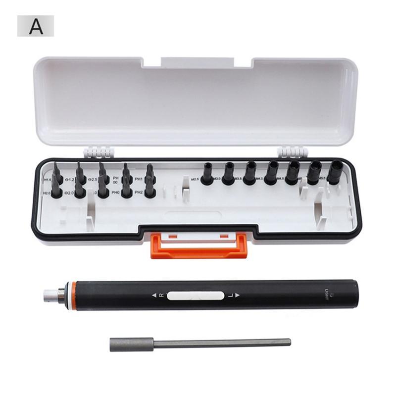 Высокое качество USB аккумуляторная электрическая мини рука собственной цели хром двойной комплект ванадиевой стали отвертка вставной инструмент