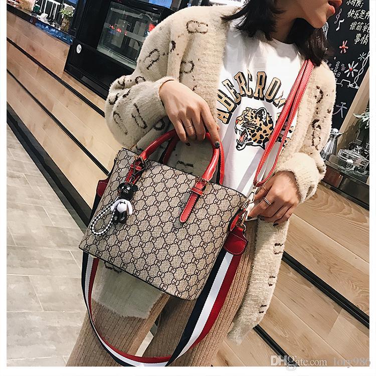 Hombro Messenger Hasp Bucket bags Cuero Sólido Asa superior Fashion Hombreras Nuevas llegadas meixuancai / 2