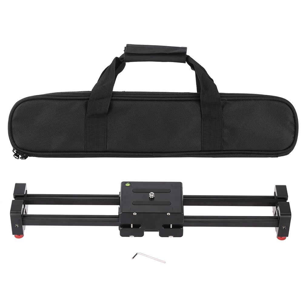 """Freeshipping V2-500 Compact Retractable Track Dolly Slider 50cm Rail Shooting Video Camera Stabilizer with 1/4"""" and 3/8"""" Thread Screw"""