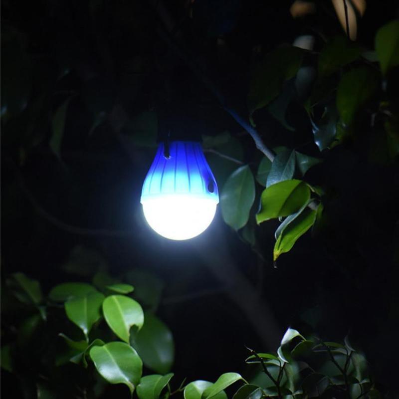 Licht & Beleuchtung Tragbare Beleuchtung 3 Modi Zelt Hängen Lampe 3led Wasserdichte Lampe Outdoor Angeln Camping Wandern Lichter Sos Notfall Reise Karabiner Birne