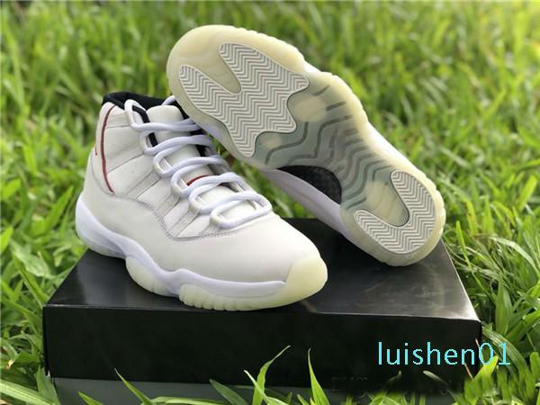M2020 High Qualtiy With Box 11 Platinum Tint 11s Men Basketball Shoes Grey Sports Sneakers Size 40-46 l01