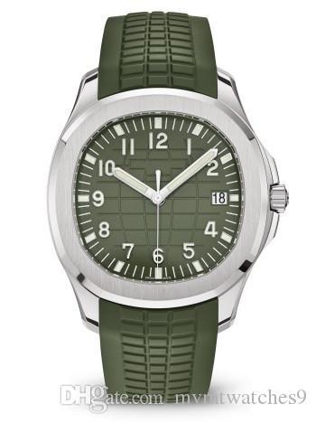 Мода Luxury спортивные часы Мужские кварцевые Rubber Band Военный Водонепроницаемый Мужские часы часы Лучшие швейцарские Черный Синий Зеленый Часы Reloj де Lujo