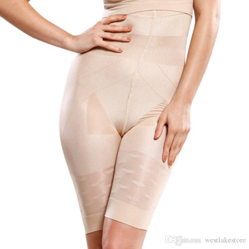 Controle de Tummy das Mulheres Shaping Calcinha Mulher Cintura Alta Calcinha De Emagrecimento Respirável Shaper Do Corpo Shaper Calções de Controle Shapewear