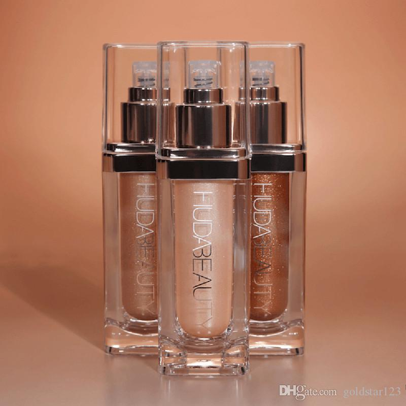 دروبشيبينغ العلامة التجارية الجديدة Maquiagem جميع أنحاء الوجه والجسم تمييز يضيء Bronzers فسفورية الشحن المجاني