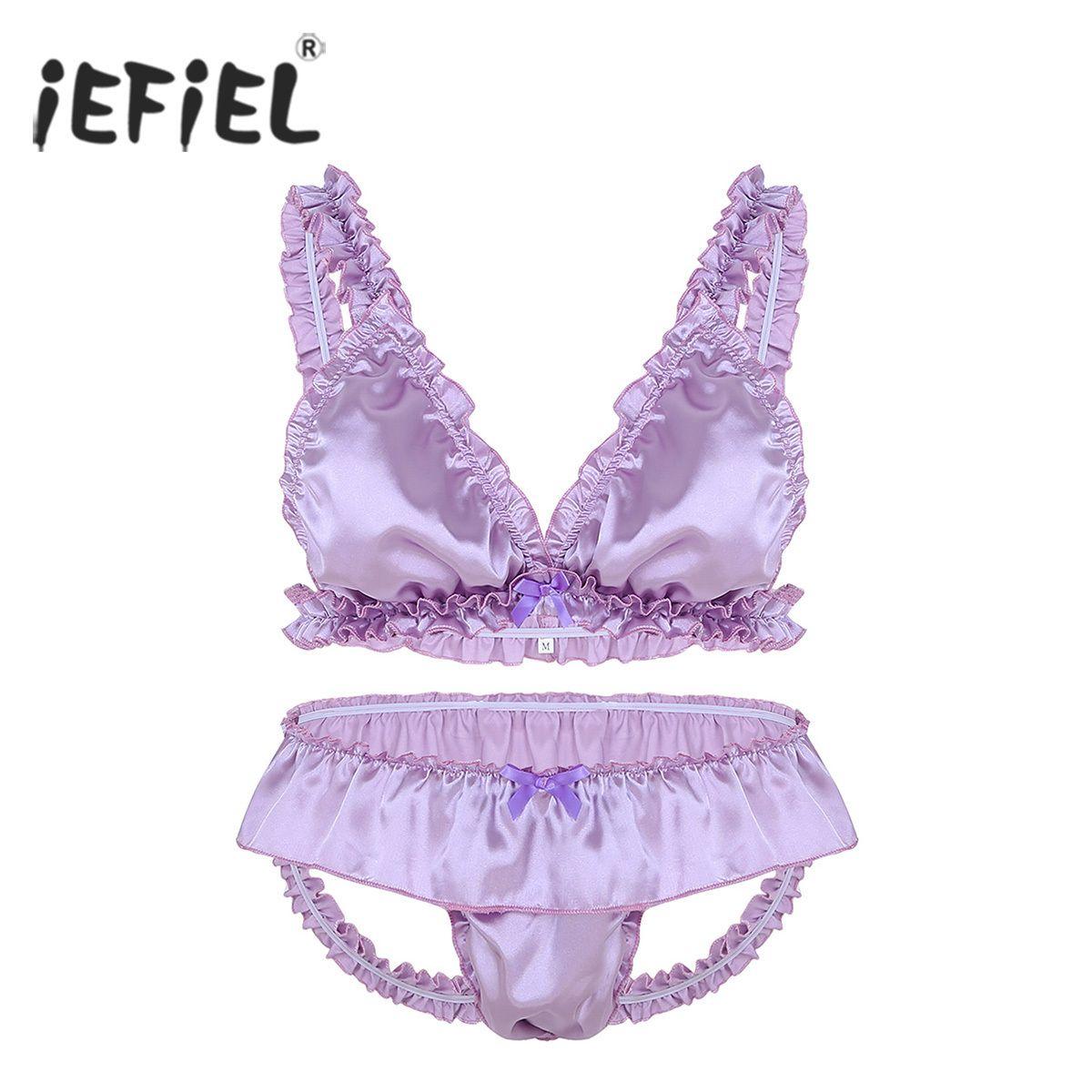 Male Briefs Underwear Knickers Sissy Briefs Elastic Underwear Lingerie