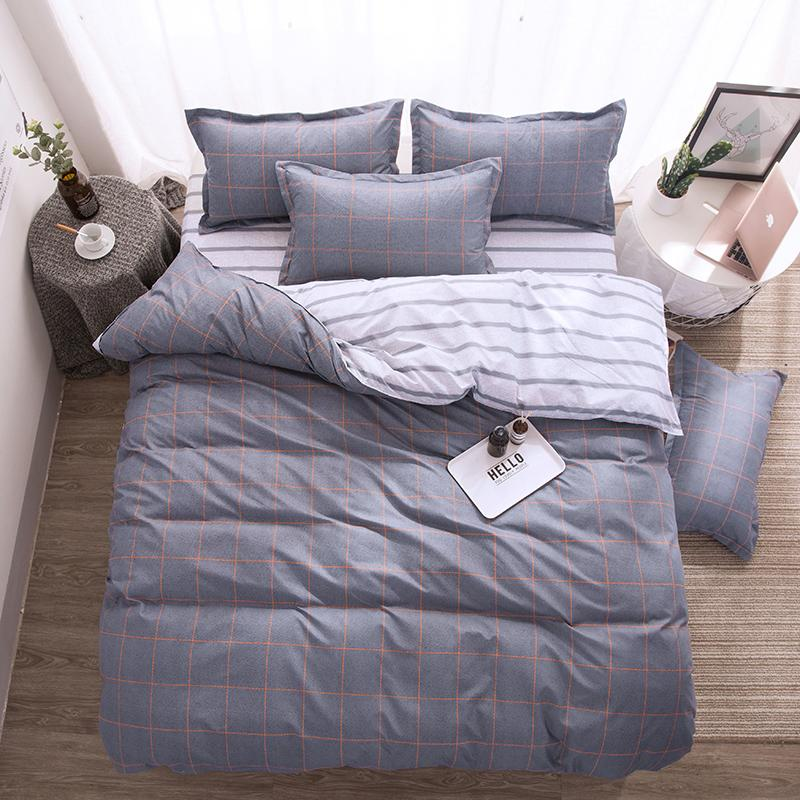 Annual supply washable cotton bed sheet, pillow case and quilt cover does not pilling, does not fade, does not shrink