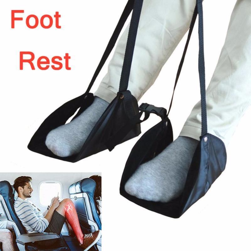HAMMOCKS COMFY вешалка путешествия самолет лапки лапки гамака сделаны с памятью пенопластовые ноги отдыхают # 007