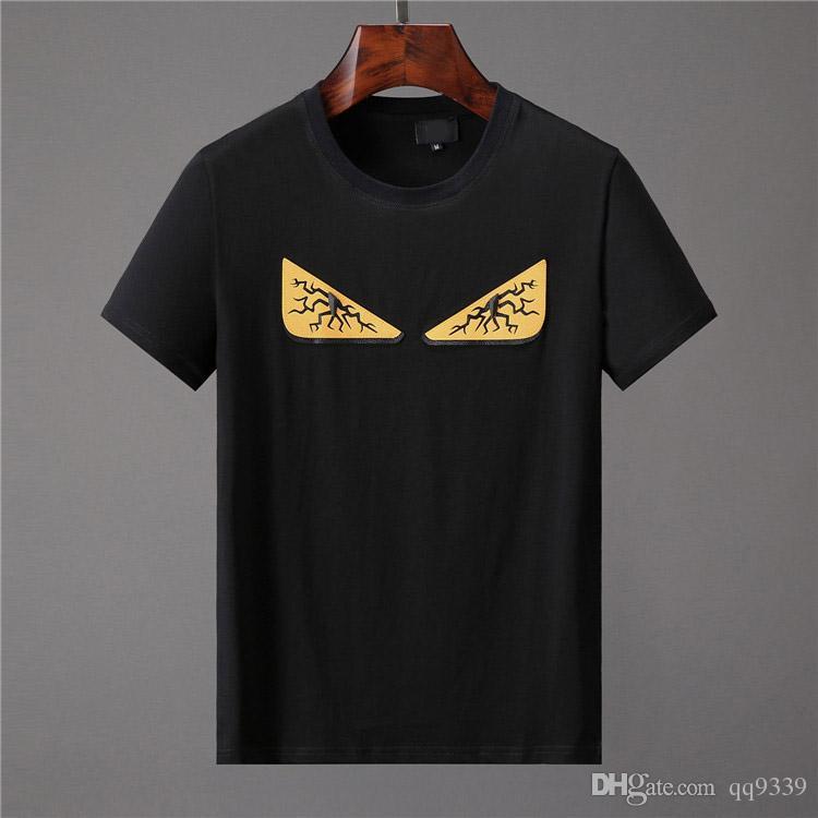 T-Shirt 2019 girocollo rosa estate nuove donne uomo Tee Hip Hop T-shirt casual 8 colori M-3XL