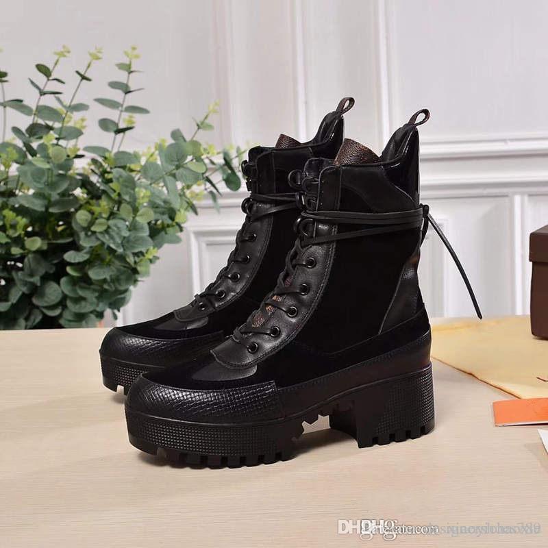Frauen Schuhe Mode Frauen Stiefel 2019 Superstars Mode Frauen Stiefel Thick Heel Stiefel mit Kasten