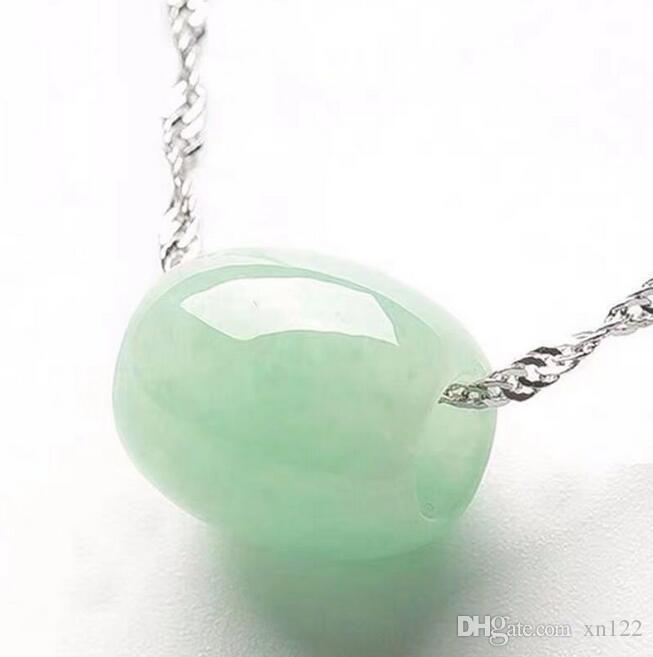 Venta al por mayor de Birmania natural de jadeíta un cargamento flojo de los granos del jade de transferencia Zhulu LUTONG bricolaje pendiente de la joyería