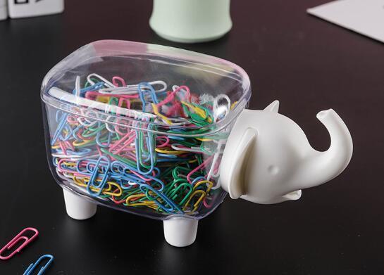 Kreative Miniatur-Desktop-Büro-Aufbewahrungsbox-Zahnstocher Baumwoll-Tupfer-Staubschutz-Finishing-Kasten